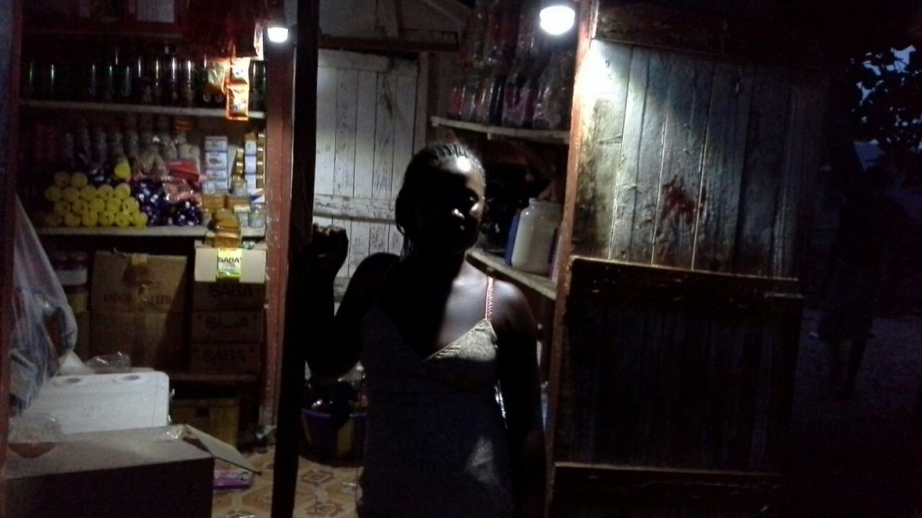 Kadiatu, the Ngepay kiosk manager