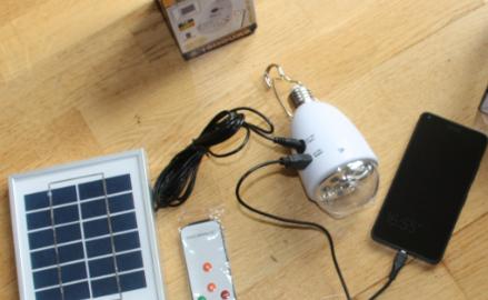 new Solar lamp fra SLCBO