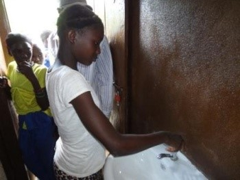 Toilet for Bissau Community by SLCBO